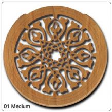 Lute Hole in Walnut Wood - price reduction